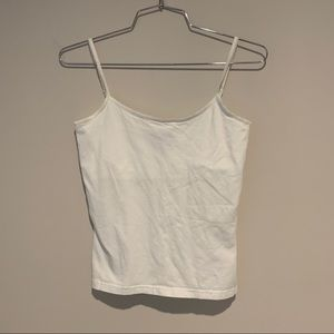 White Abercrombie & Fitch Tank Top